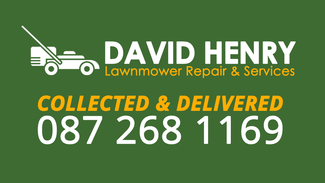 Gardening Green – Lawnmower Repair Business Card
